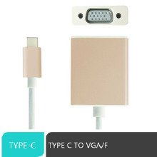 朗俊USB 3.1 TYPE C TO VGA USB3.1 TO VGA USB3.1转VGA连接线